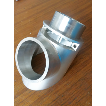 5 Axis Custom Pipe Connector