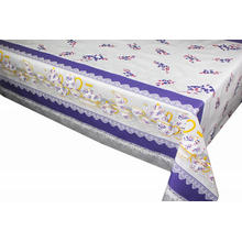 Elegant Tablecloth Round with Non woven backing