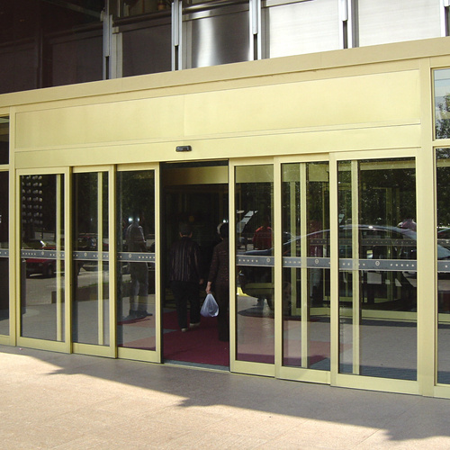 Automatic Telescopic Sliding Doors with Big Door Leafs