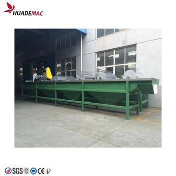 Plastic Dirty Waste Film Washing Recycling Machine Line
