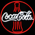 Logomarca do grupo COCA COLA LED NEON SIGN