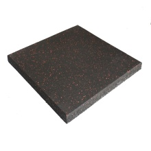 Anti-slip gym floor rubber tiles