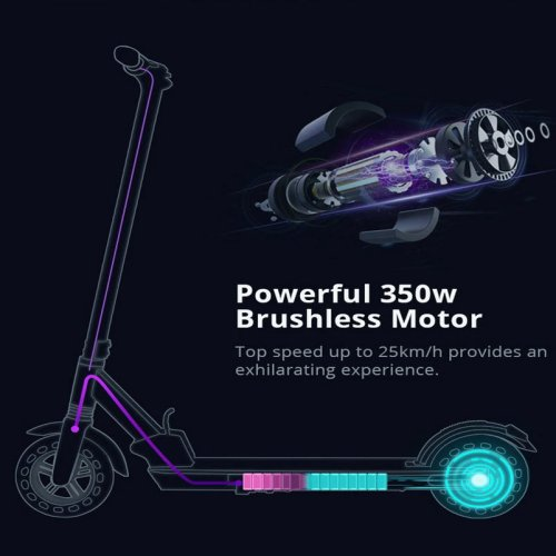 30KM Long Range Pure Scooter Electric
