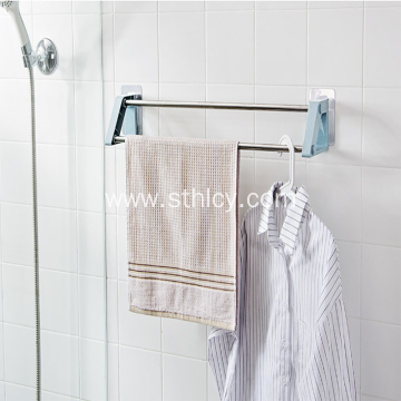 Simple And Stylish Bathroom Stainless Steel Towel Rack