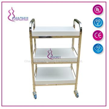 Plastic baffle moving trolley