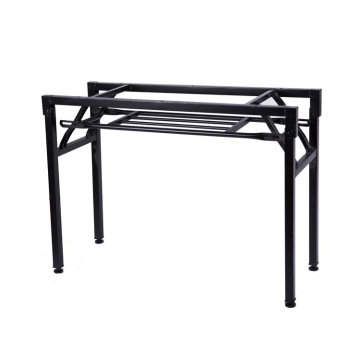 Popular durable metal folding table legs table frame