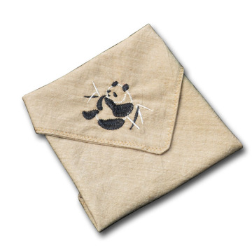 Animal Embroidery Handkerchiefs Women and Men Hanky