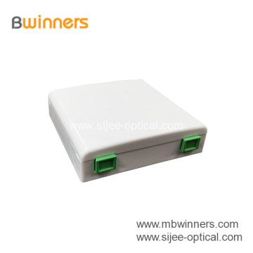 Factory Mini FTTH Fiber Optical Terminal Box Fiber Wall Socket