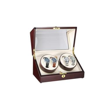 Two Rotors Watch Winder For Four Watches