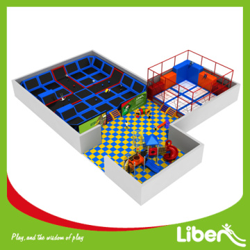 Urban rebounder ground trampoline