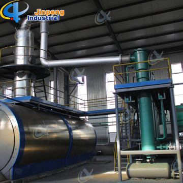 CE&ISO14001/9001 Certification and Tyre Pyrolysis Plant