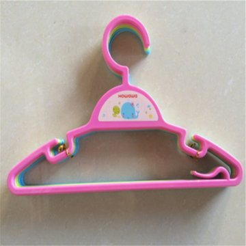 Plastic Child Accessory Clothes Rack Coat Hanger Set