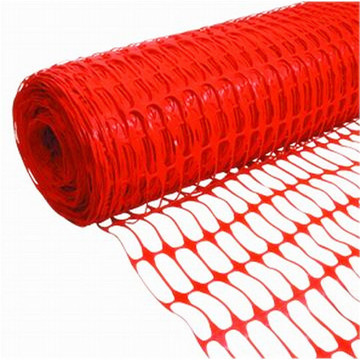 HDPE orange barrier warning net safety fence