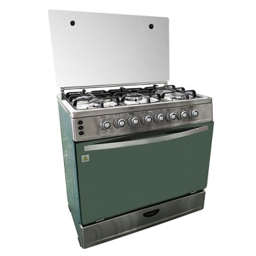 Stainless steel body Freestanding Installation gas oven