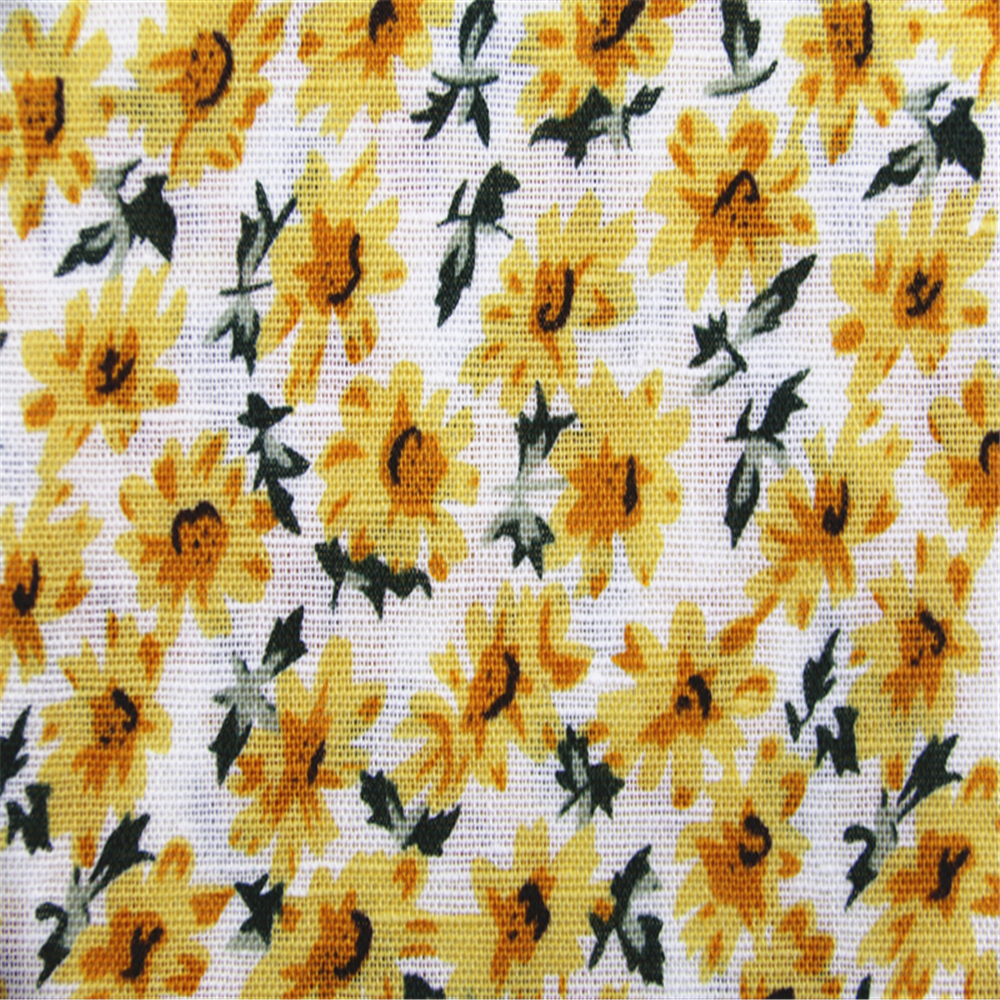 Sunflower Printing Fabric