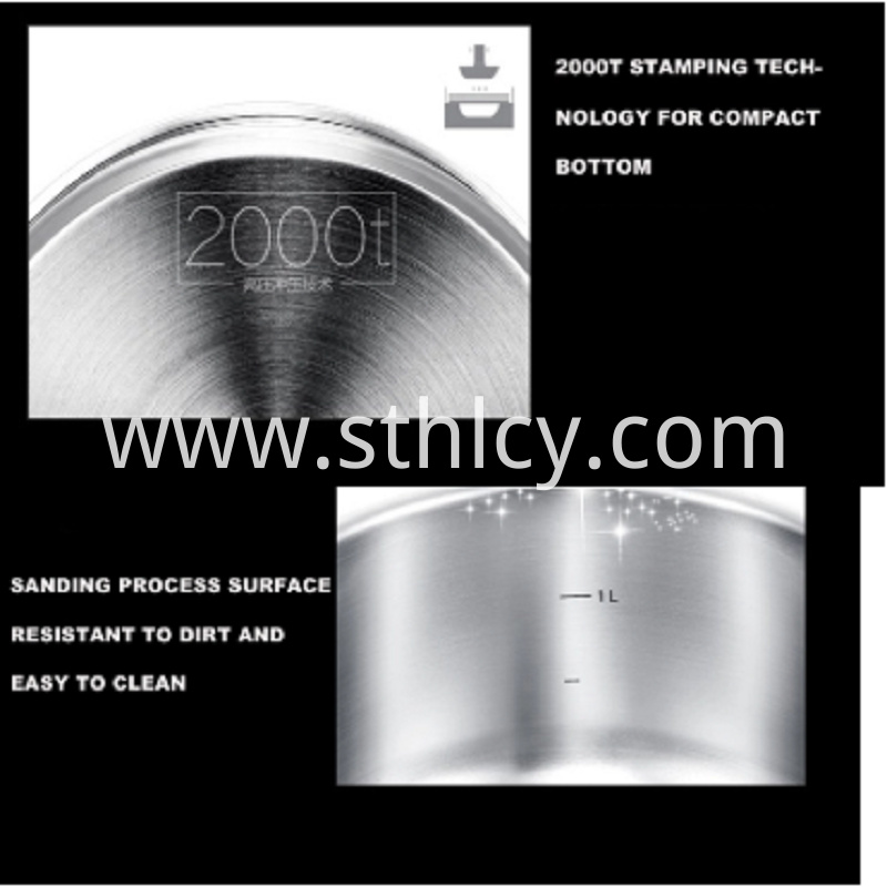 Stainless Steel Pan With Lid