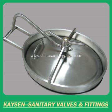 Elliptical Sanitary Manway Manhole Cover