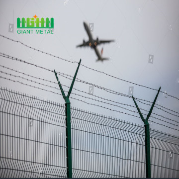 Steel picket fence airport wests