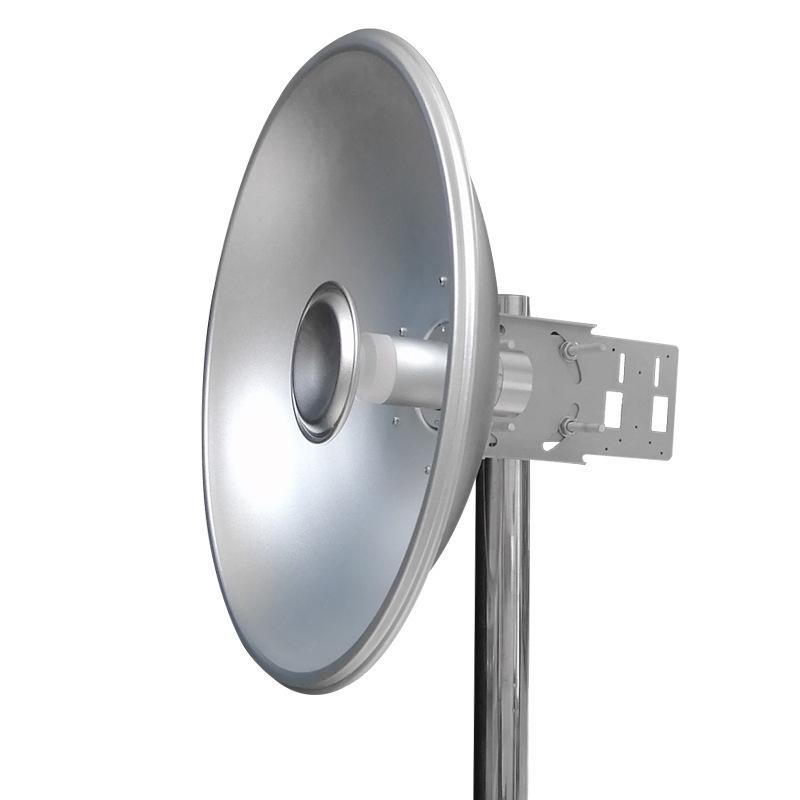 4800-6500Mhz 30dBi parabola bipolar wifi communication WLAN signal high gain outdoor antenna