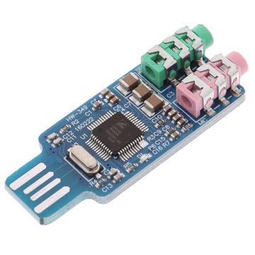 Free Drive Usb Sound Card Computer External Sound Card Notebook Sound Card Original Cm108 Chip
