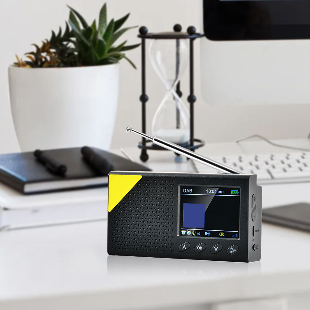 Portable Bluetooth Digital Radio For DAB/DAB+ And FM Receiver Rechargeable Light Home Radio Digital Radio For Home 2020 NEW