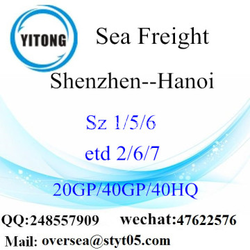 Shenzhen Port Sea Freight Shipping To Hanoi