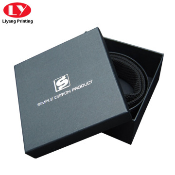 Luxury Fancy Paper Belt Box with Lid