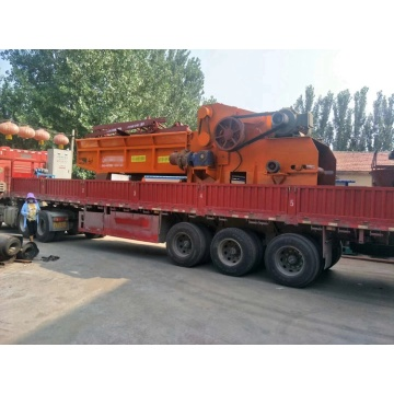best selling wood chipper machine with belt conveyors​