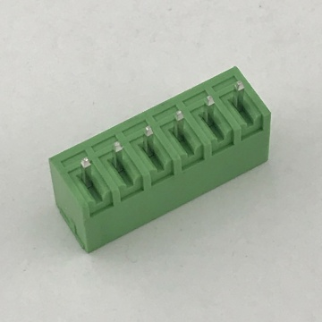 3.81mm pitch straight male pin Plug-in terminal connector