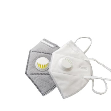 5-Ply KN95 Mask With Valve For Home/Outdoor