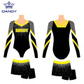 Custom Long Sleeve Cheerleader Costume