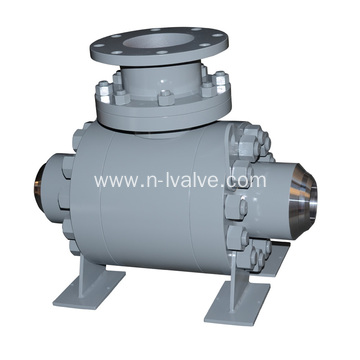 Hard Seal Trunnion Ball Valve