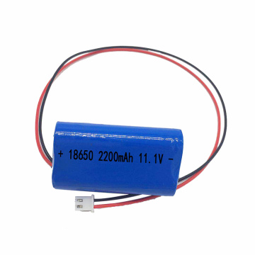 18650 3S1P 11.1V 2200mAh Lithium Ion Battery Pack