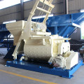Twin shaft high speed continuous concrete mixer