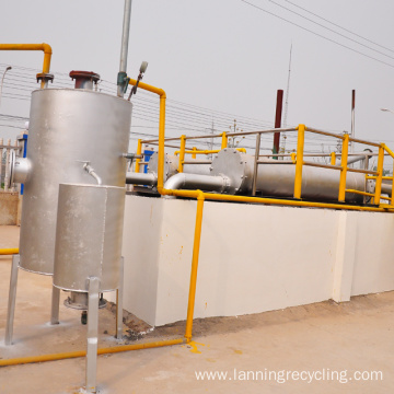 lanning recycle polyester staple fiber making machine