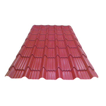 high quality color coated 08 mm roofing steel sheets