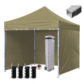 Commercial Tents Large Door Folding 10x10 Canopy Tent