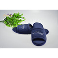 Colored Cotton Velour Open Toe Hotel Slipper