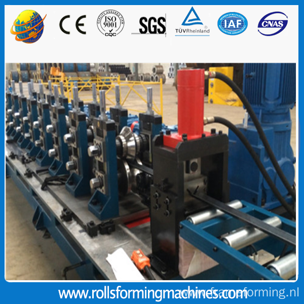 Steel Slotted Angle Making Machine