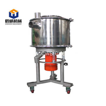 Industrial high frequency sifter for sugar
