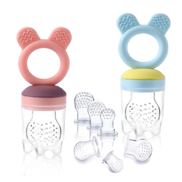 Food Grade Silicone Baby Fruit Food Feeder Pacifier