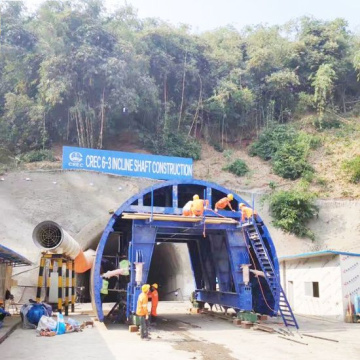 Equipment Inclined Shaft Trolley Construction of Tunnel
