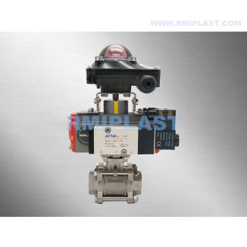 Pneumatic Ball Valve SS316 Single Acting