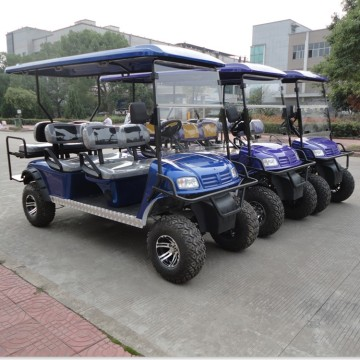 6Seats Electric  Golf carts with CE