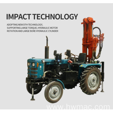 150m Tractor Mounted Water Well Drilling Rig