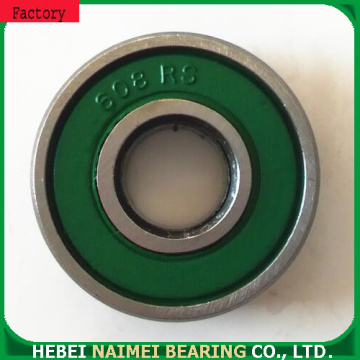 Single row ball bearing and roller 608