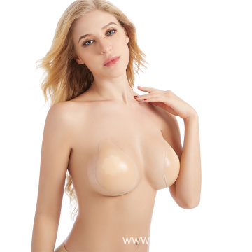 Push up silicone bra backless self adhesive