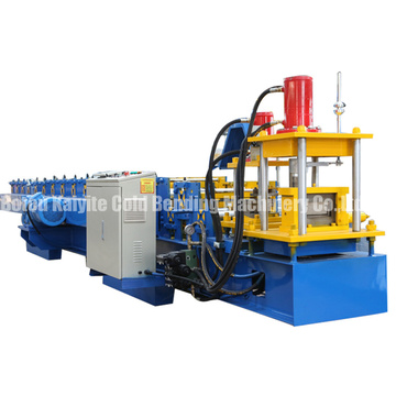 C Purline Steel Frame Forming Machine With PLC