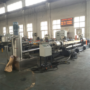 PE plastic filler master batch making machine