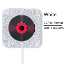2020 CD Player Wall Mountable Bluetooth Portable Home Audio Box with Remote Control FM Radio Built-in HiFi Speaker MP3